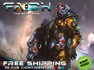 Faith the sci-fi rpg